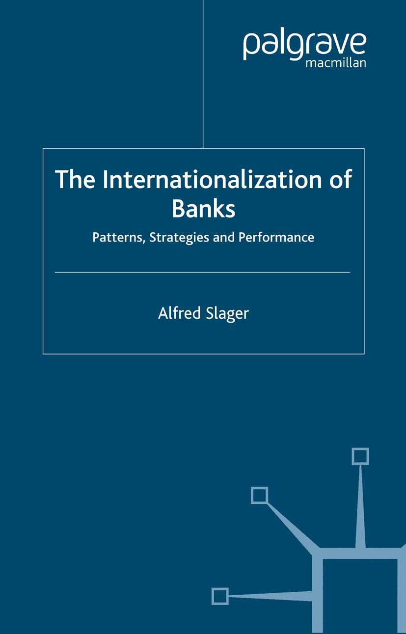 Slager, Alfred - The Internationalization of Banks, ebook