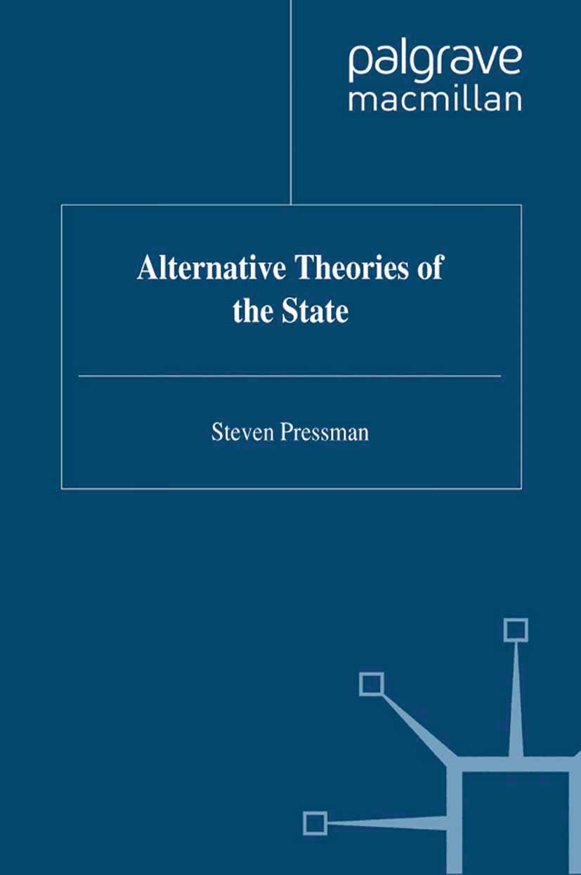 Pressman, Steven - Alternative Theories of the State, ebook