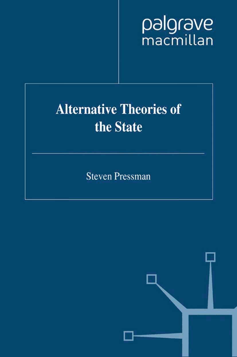 Pressman, Steven - Alternative Theories of the State, e-bok