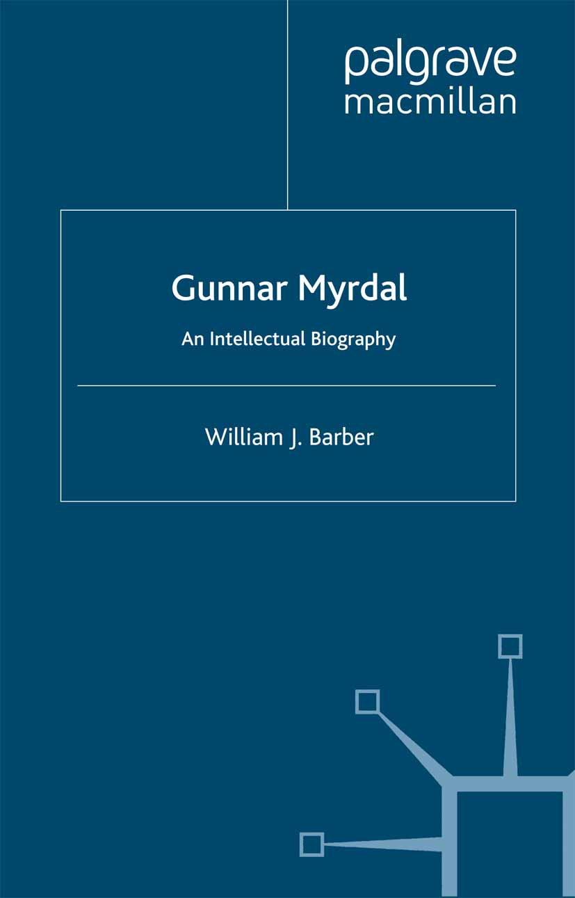 Barber, William J. - Gunnar Myrdal, ebook