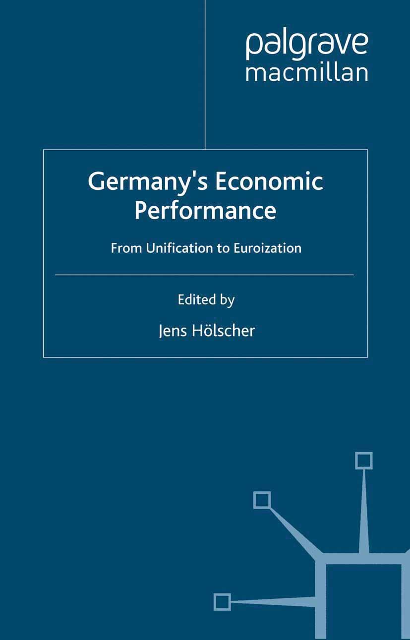 Hölscher, Jens - Germany's Economic Performance, ebook