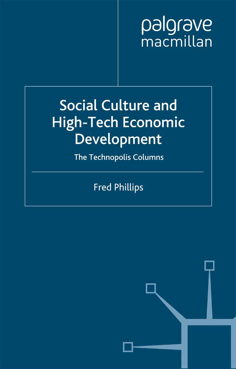 Phillips, Fred - Social Culture and High-Tech Economic Development, ebook