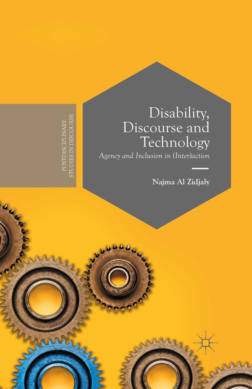 Zidjaly, Najma - Disability, Discourse and Technology, ebook