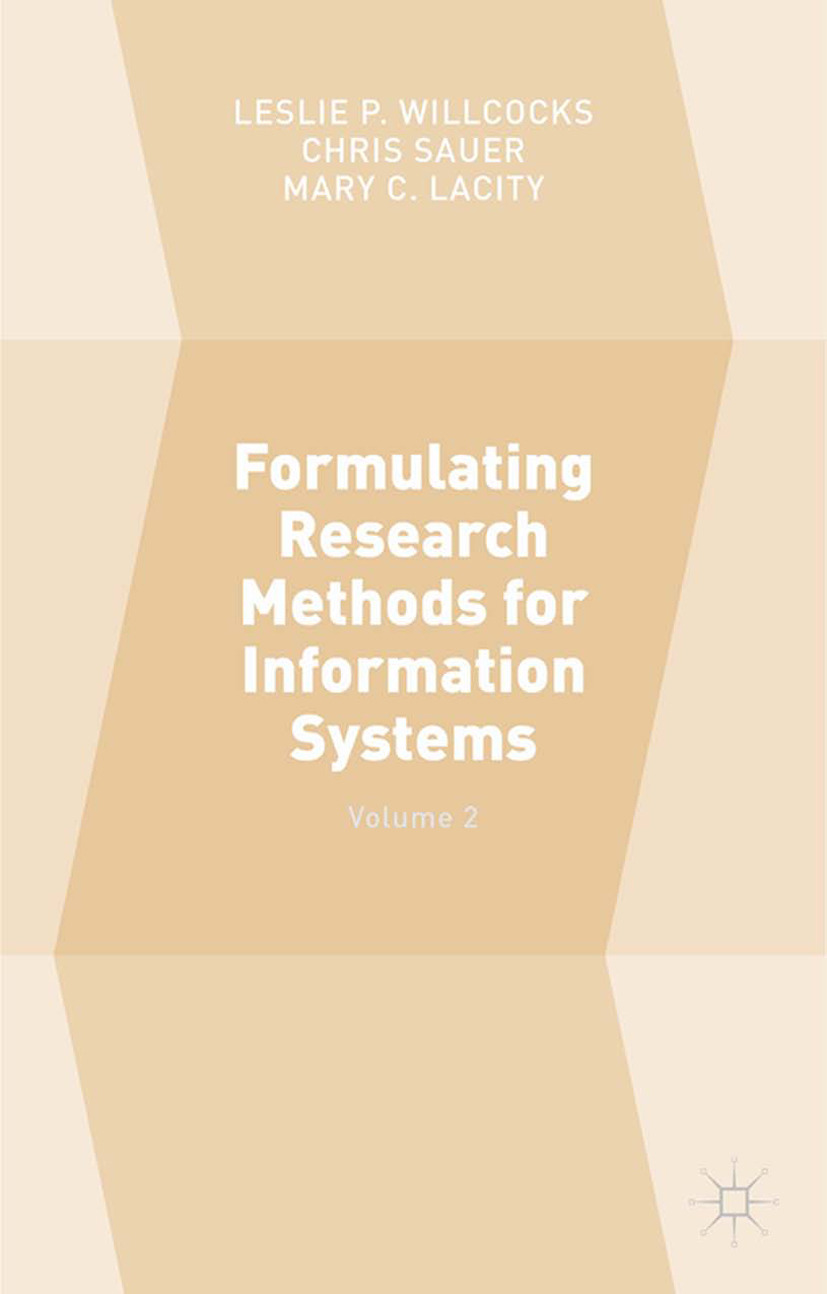 Lacity, Mary C. - Formulating Research Methods for Information Systems, ebook