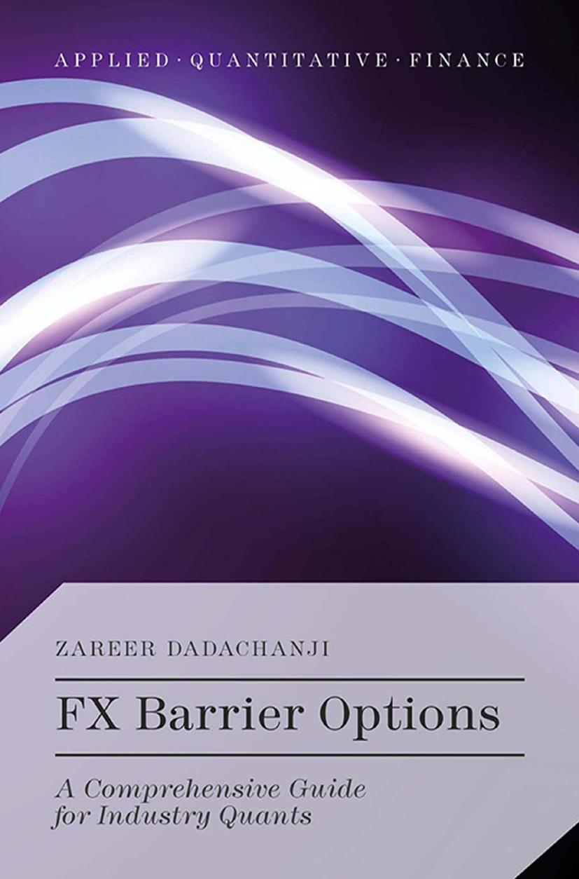Dadachanji, Zareer - FX Barrier Options, ebook