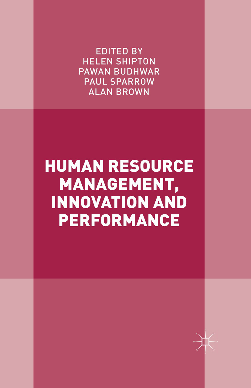 Brown, Alan - Human Resource Management, Innovation and Performance, ebook
