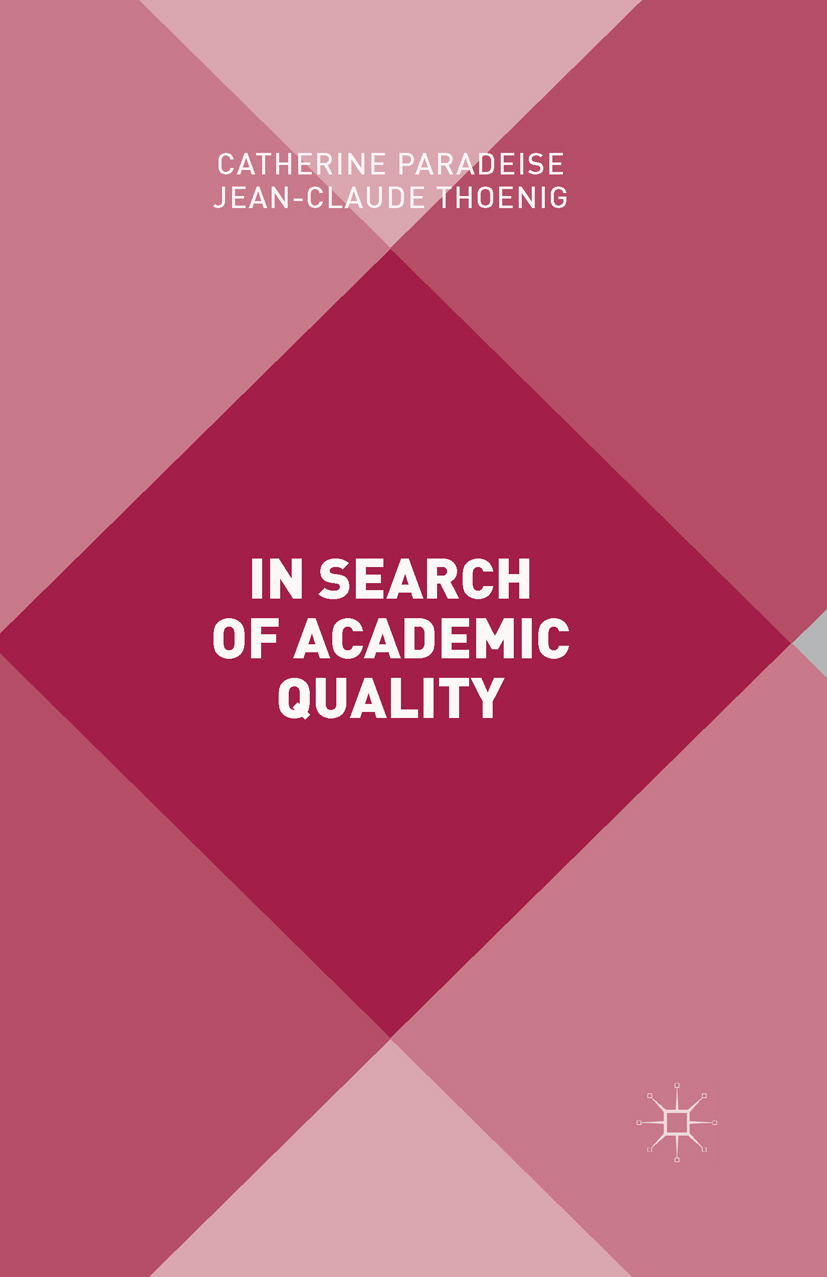 Paradeise, Catherine - In Search of Academic Quality, ebook