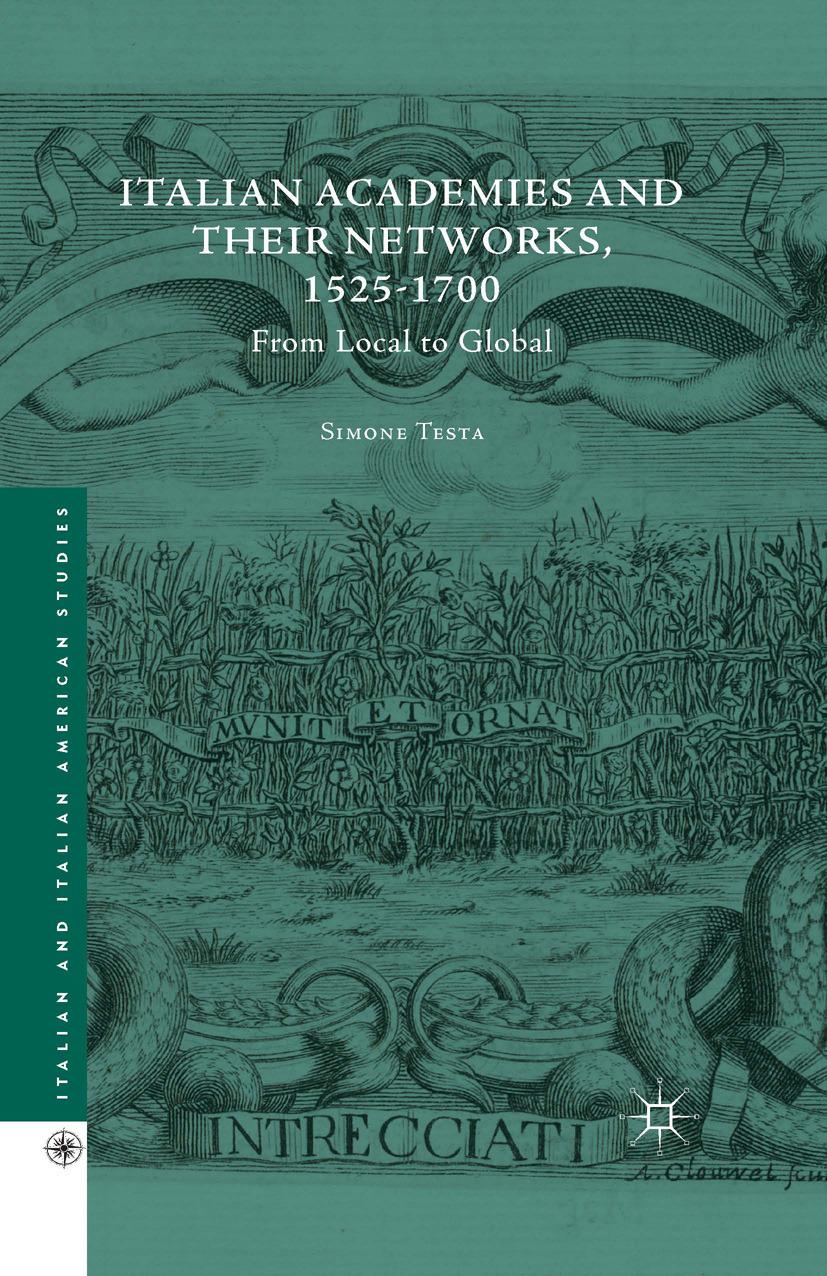 Testa, Simone - Italian Academies and Their Networks, 1525–1700, ebook