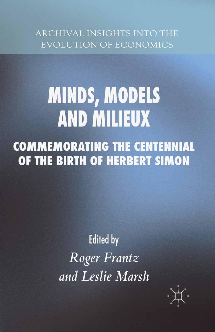 Frantz, Roger - Minds, Models and Milieux, e-bok