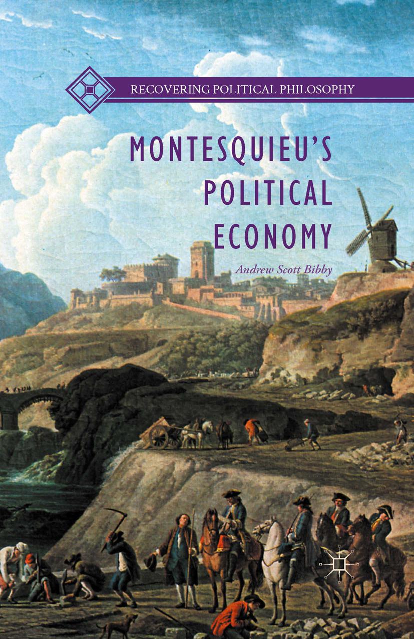 Bibby, Andrew Scott - Montesquieu's Political Economy, ebook
