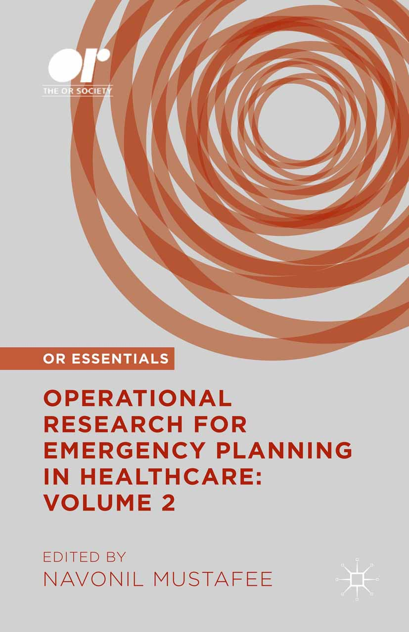 Mustafee, Navonil - Operational Research for Emergency Planning in Healthcare: Volume 2, ebook