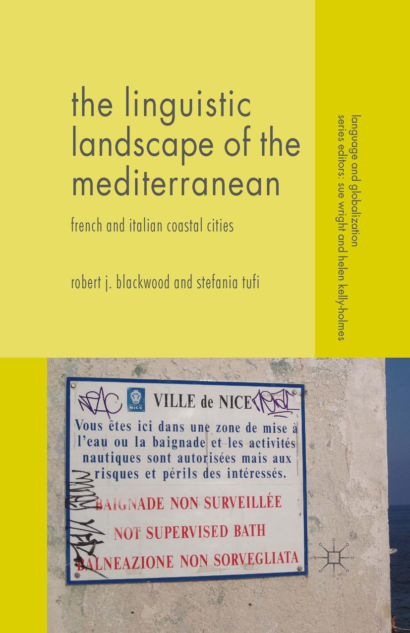 Blackwood, Robert J. - The Linguistic Landscape of the Mediterranean, ebook