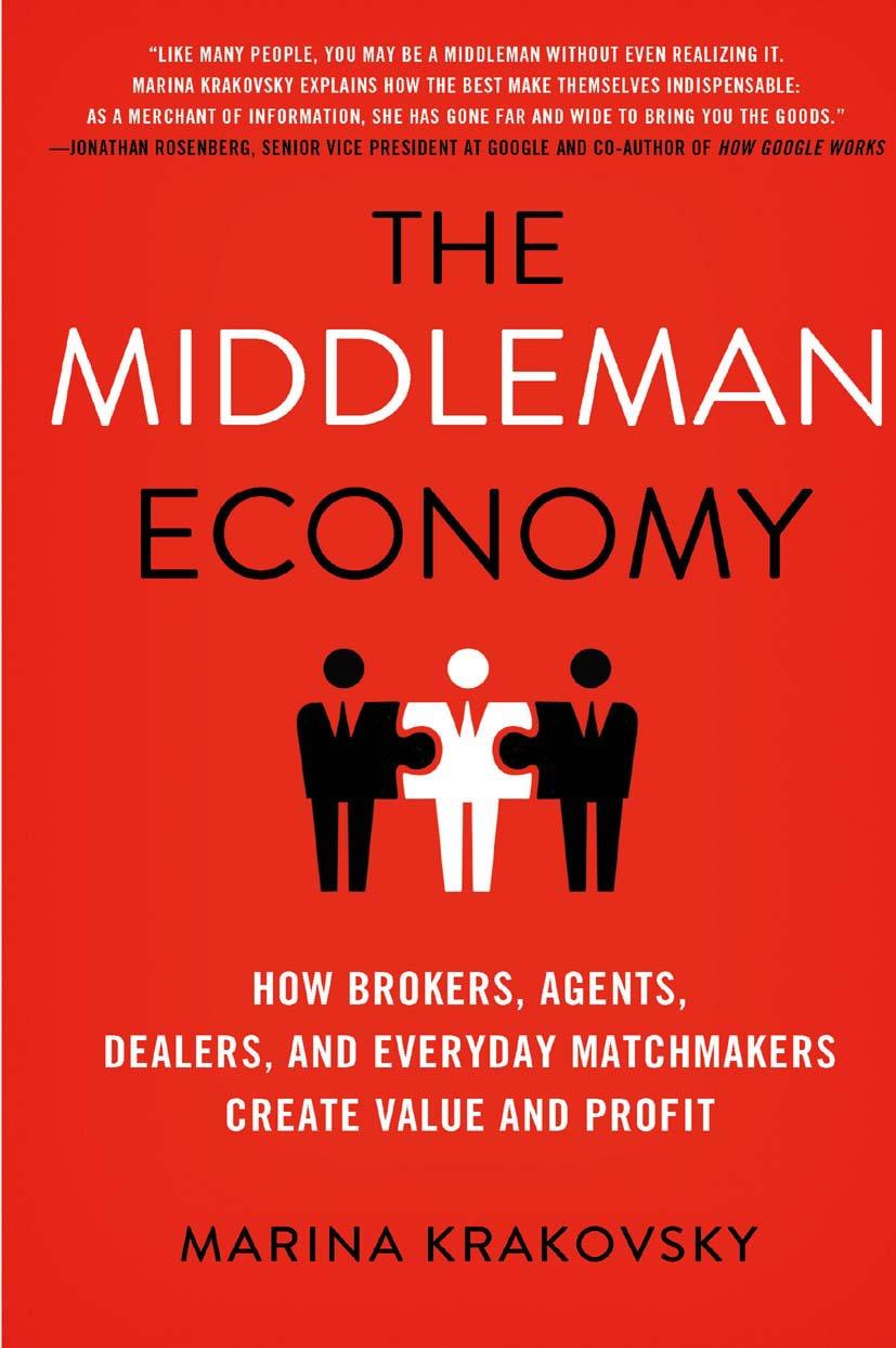 Krakovsky, Marina - The Middleman Economy, ebook