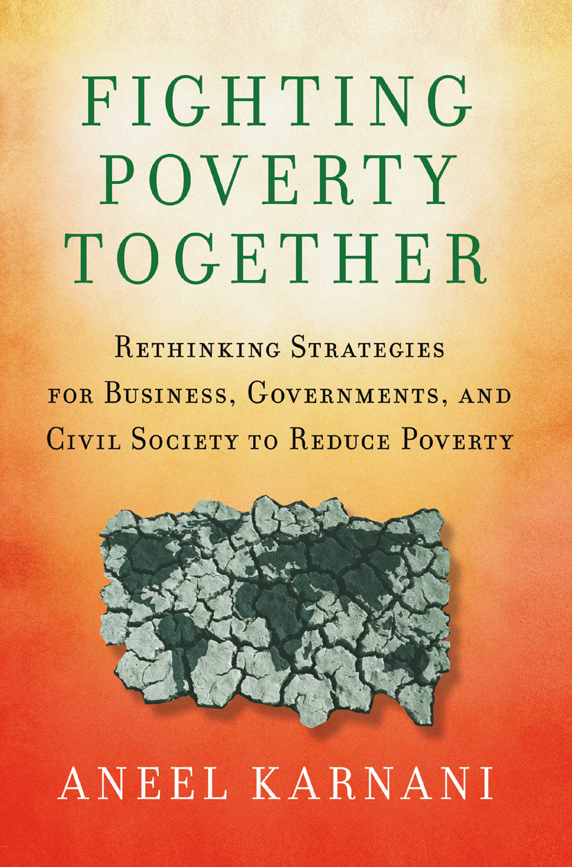 Karnani, Aneel - Fighting Poverty Together, ebook