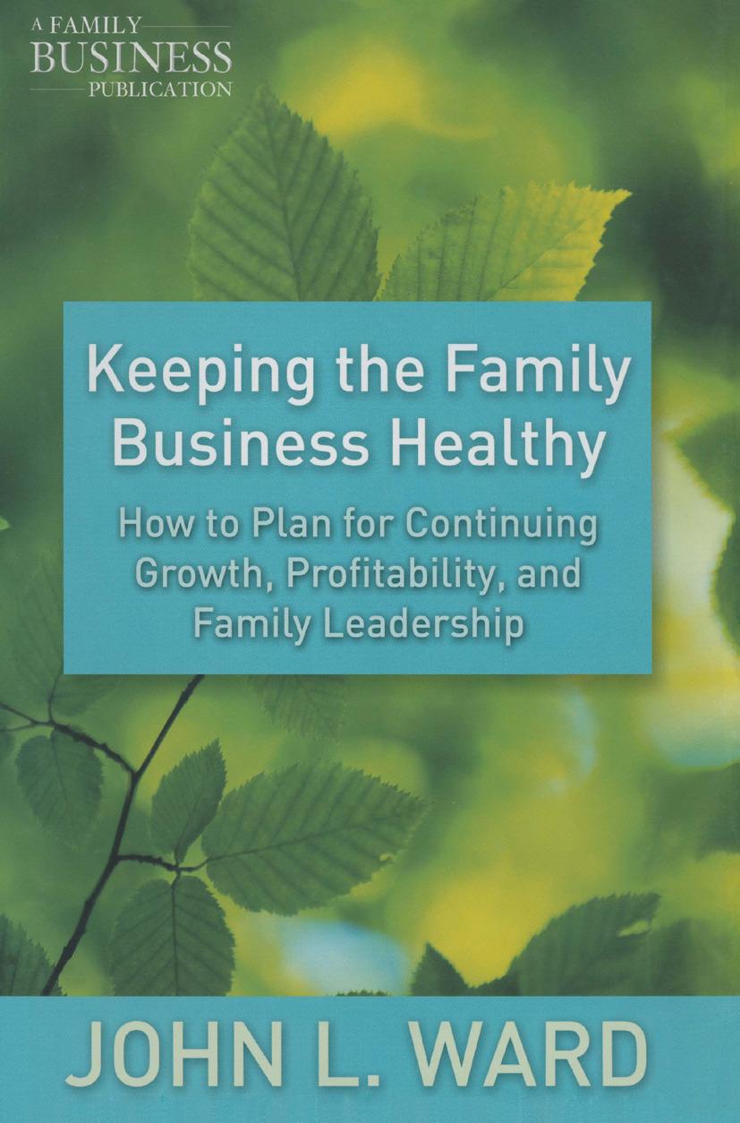 Ward, John L. - Keeping the Family Business Healthy, ebook