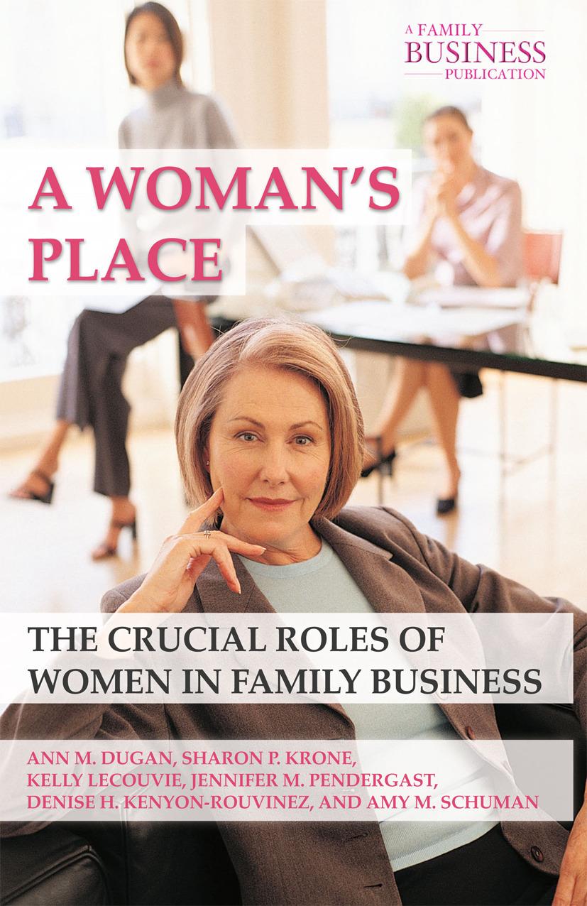 Dugan, Ann M. - A Woman's Place, ebook