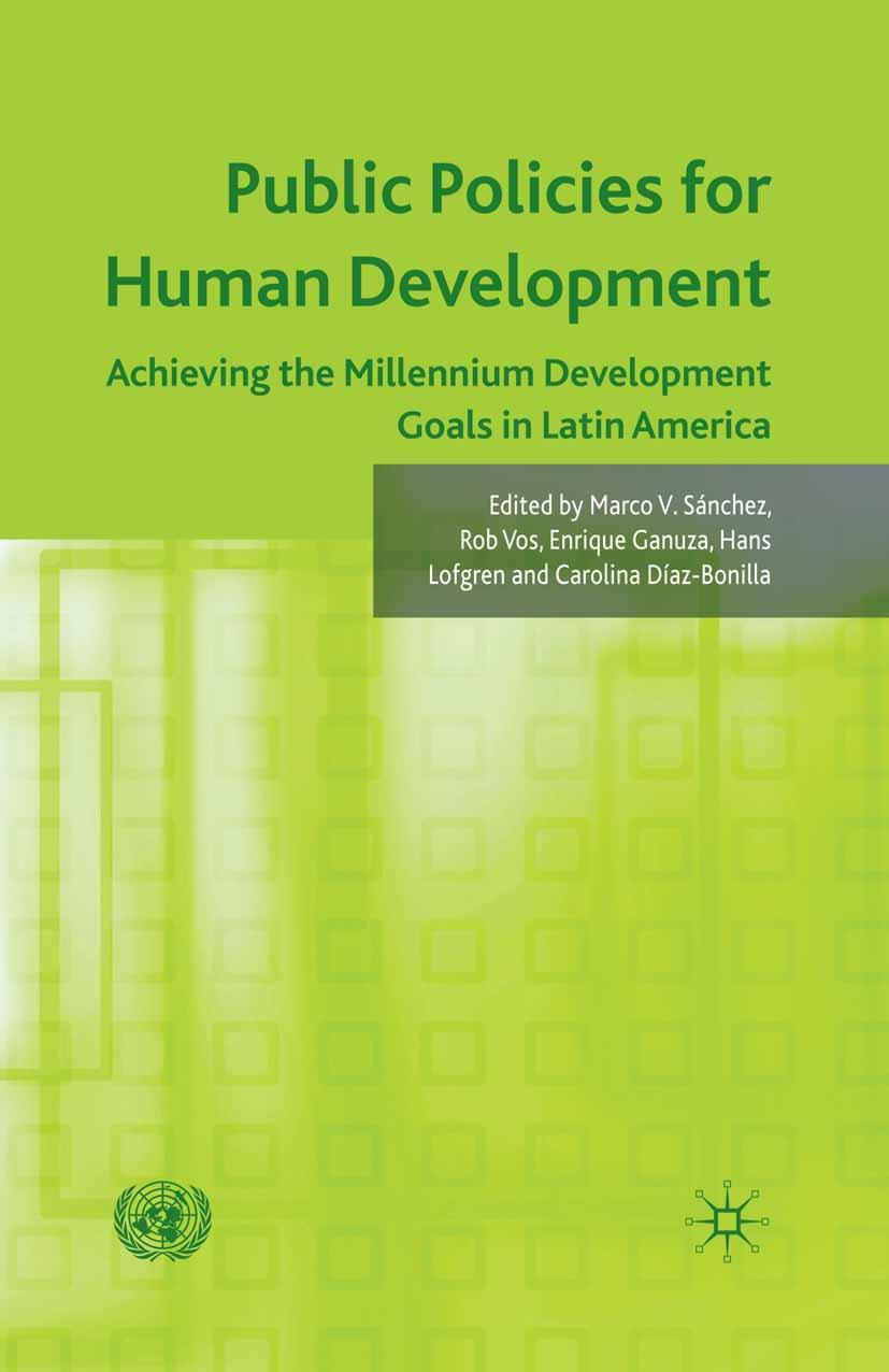 Díaz-Bonilla, Carolina - Public Policies for Human Development, ebook