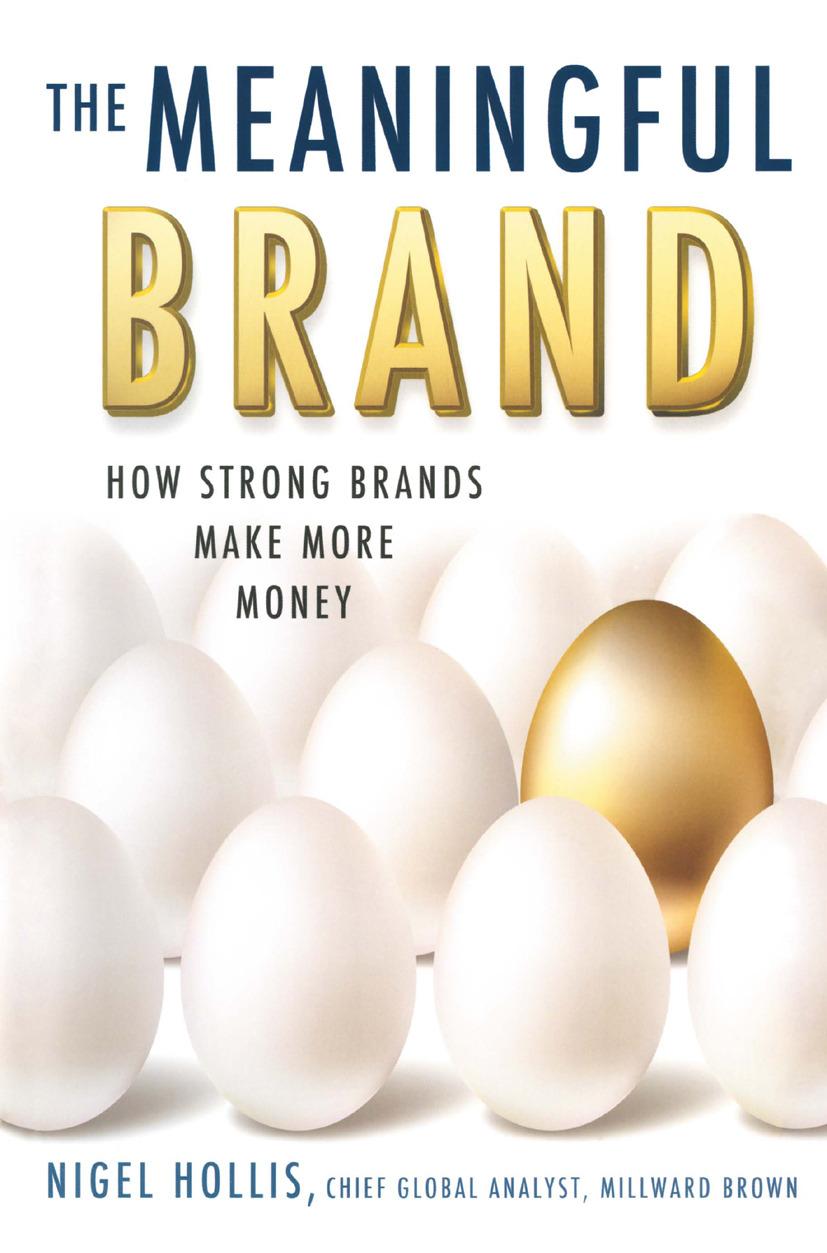 Hollis, Nigel - The Meaningful Brand, ebook