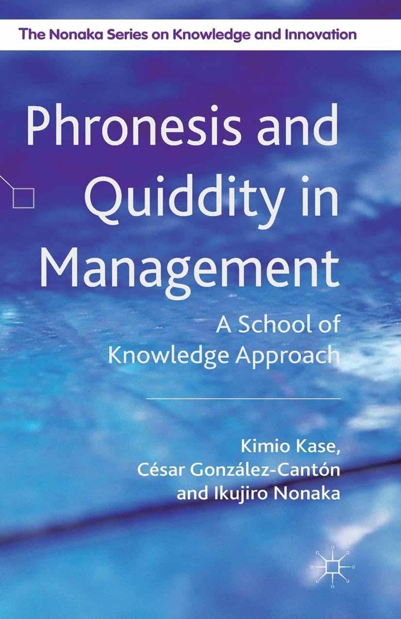 González-Cantón, César - Phronesis and Quiddity in Management, ebook