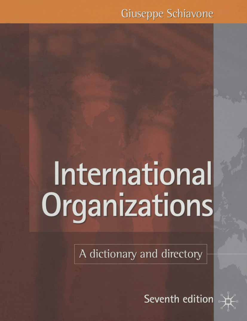 Schiavone, Giuseppe - International Organizations, ebook
