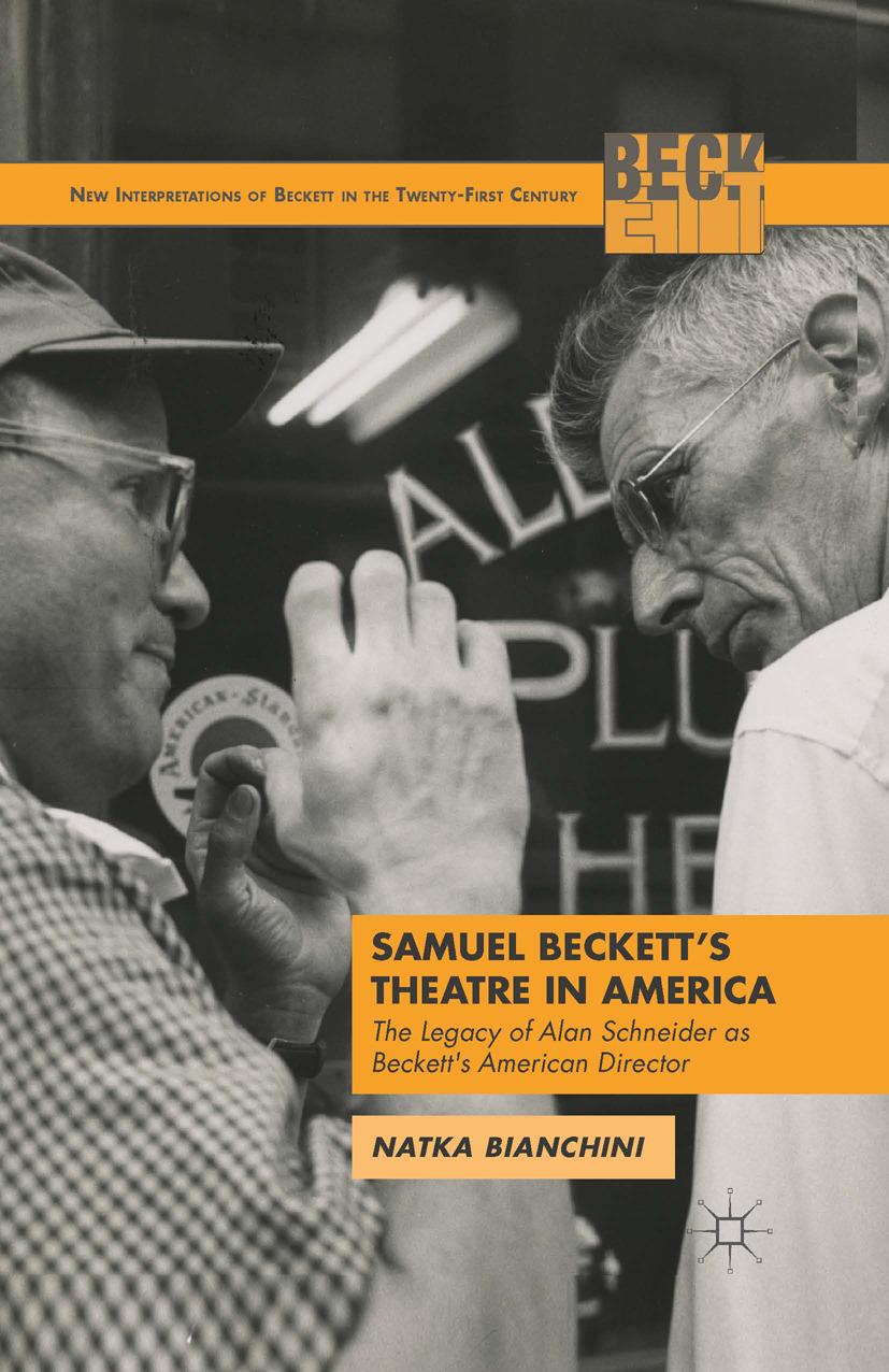 Bianchini, Natka - Samuel Beckett's Theatre in America, ebook