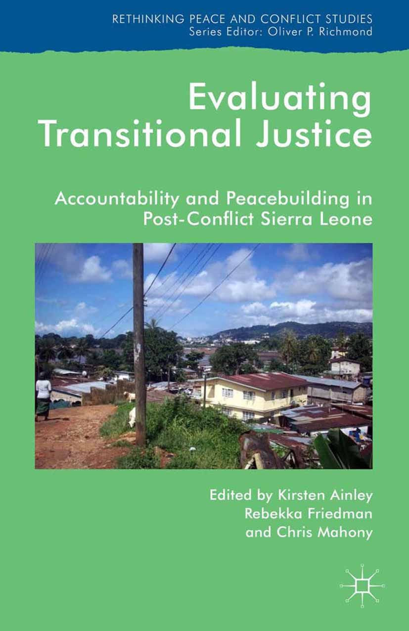 Ainley, Kirsten - Evaluating Transitional Justice, e-bok