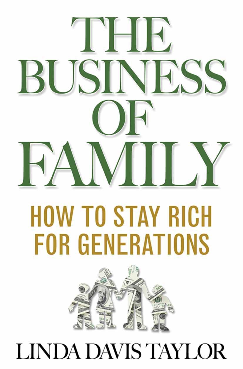 Taylor, Linda Davis - The Business of Family, ebook