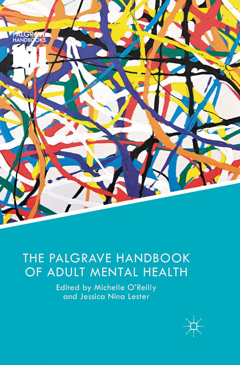 Lester, Jessica Nina - The Palgrave Handbook of Adult Mental Health, ebook