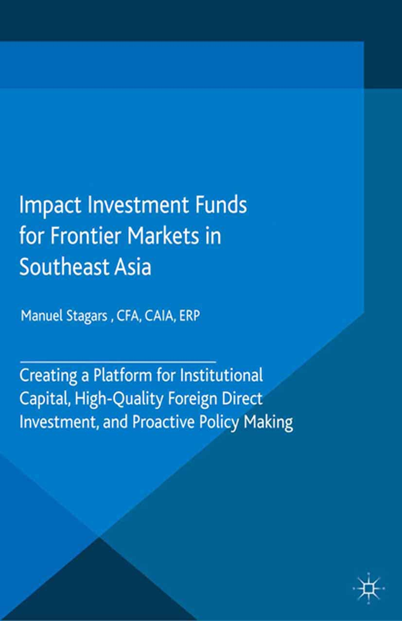 Stagars, Manuel - Impact Investment Funds for Frontier Markets in Southeast Asia, ebook