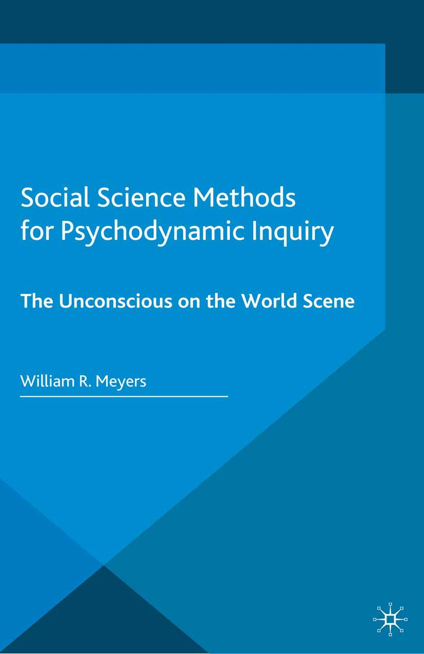 Meyers, William R. - Social Science Methods for Psychodynamic Inquiry, ebook
