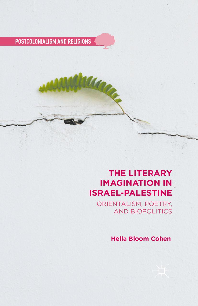 Cohen, Hella Bloom - The Literary Imagination in Israel-Palestine, ebook