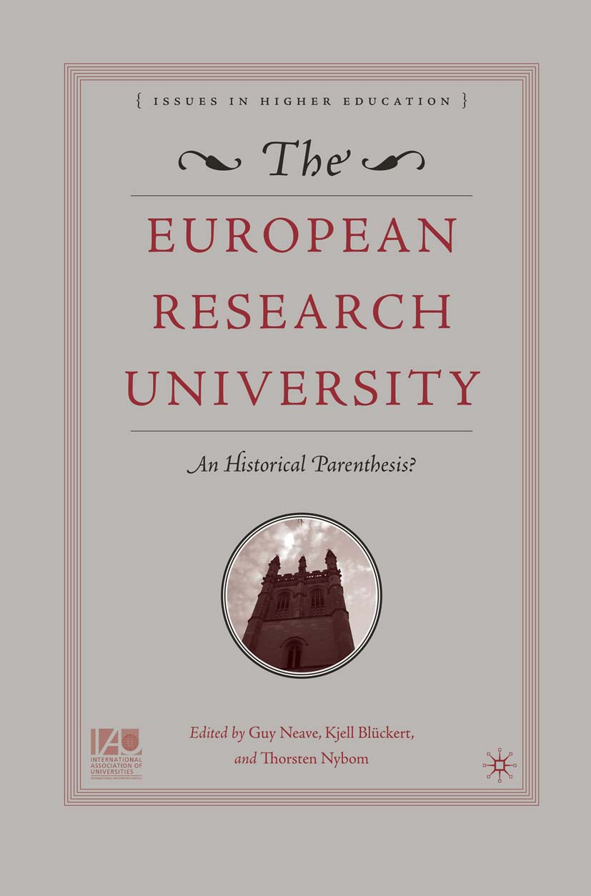 Blückert, Kjell - The European Research University, ebook