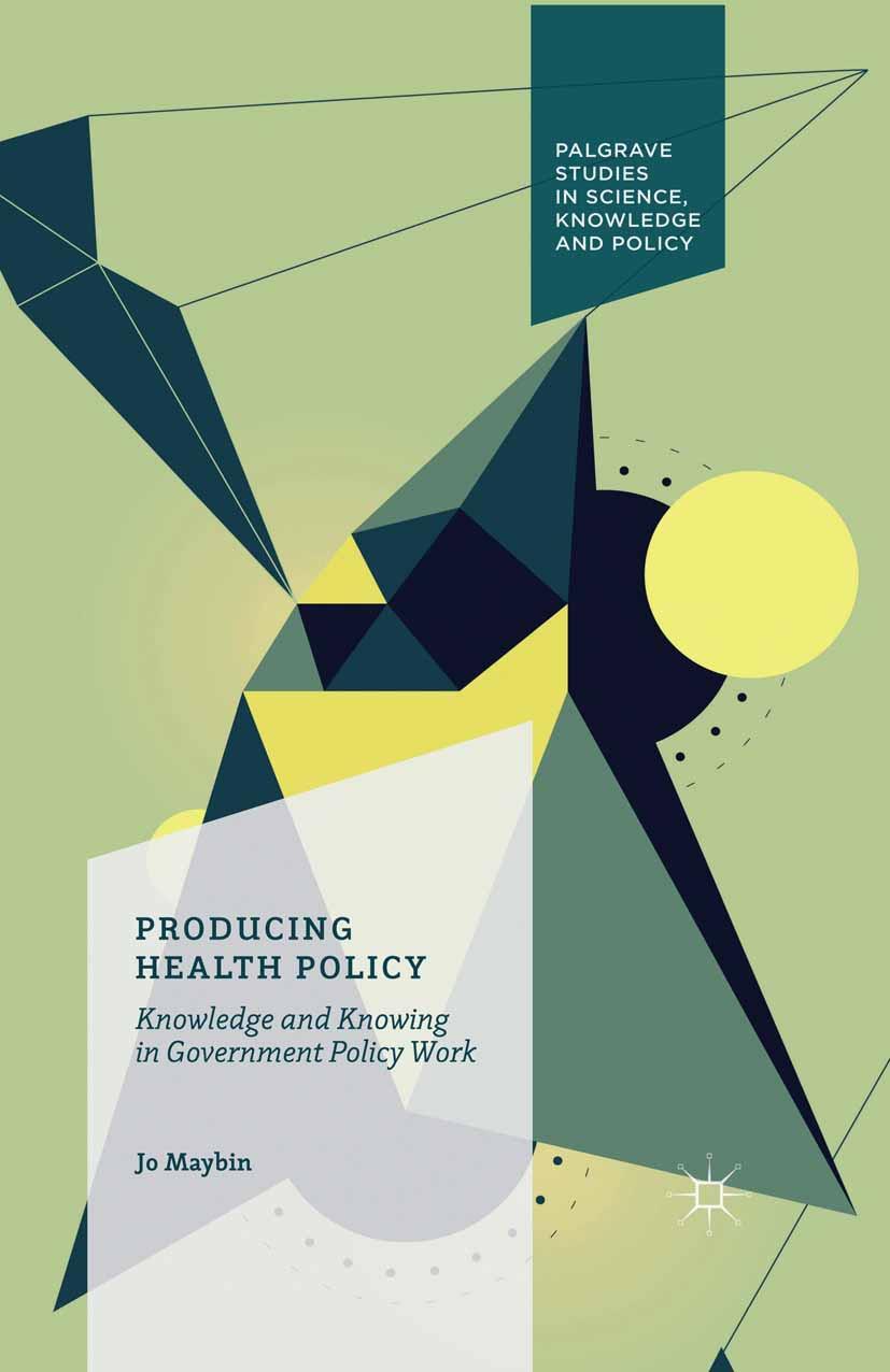 Maybin, Jo - Producing Health Policy, ebook