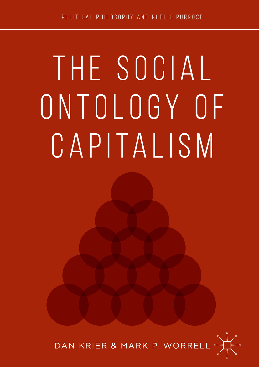 Krier, Daniel - The Social Ontology of Capitalism, e-bok