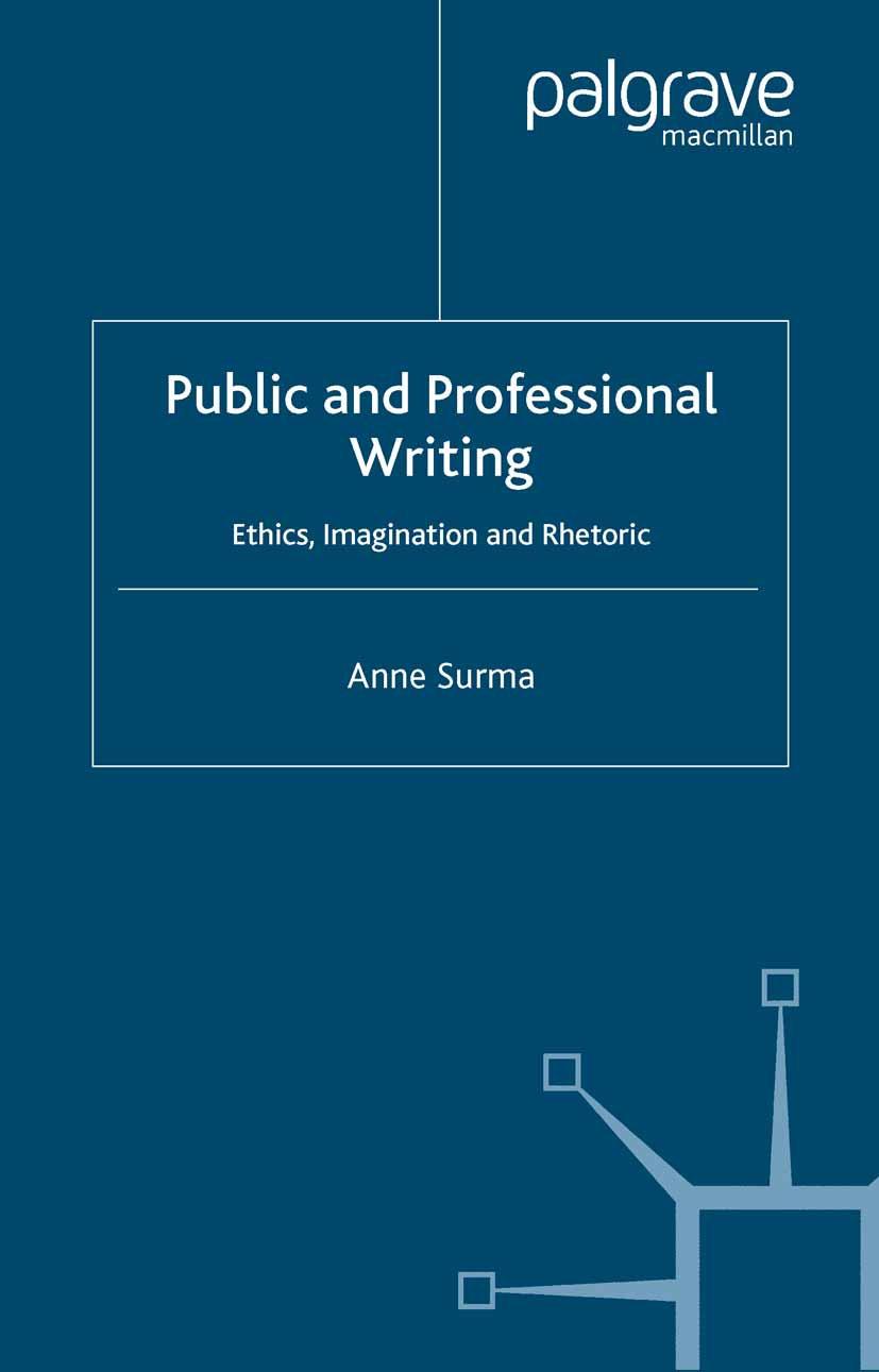 Surma, Anne - Public and Professional Writing, ebook