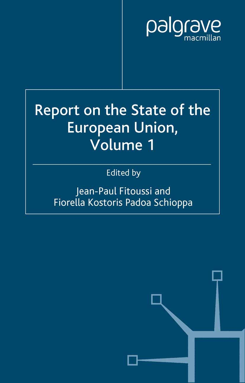 Fitoussi, Jean-Paul - Report on the State of the European Union, ebook