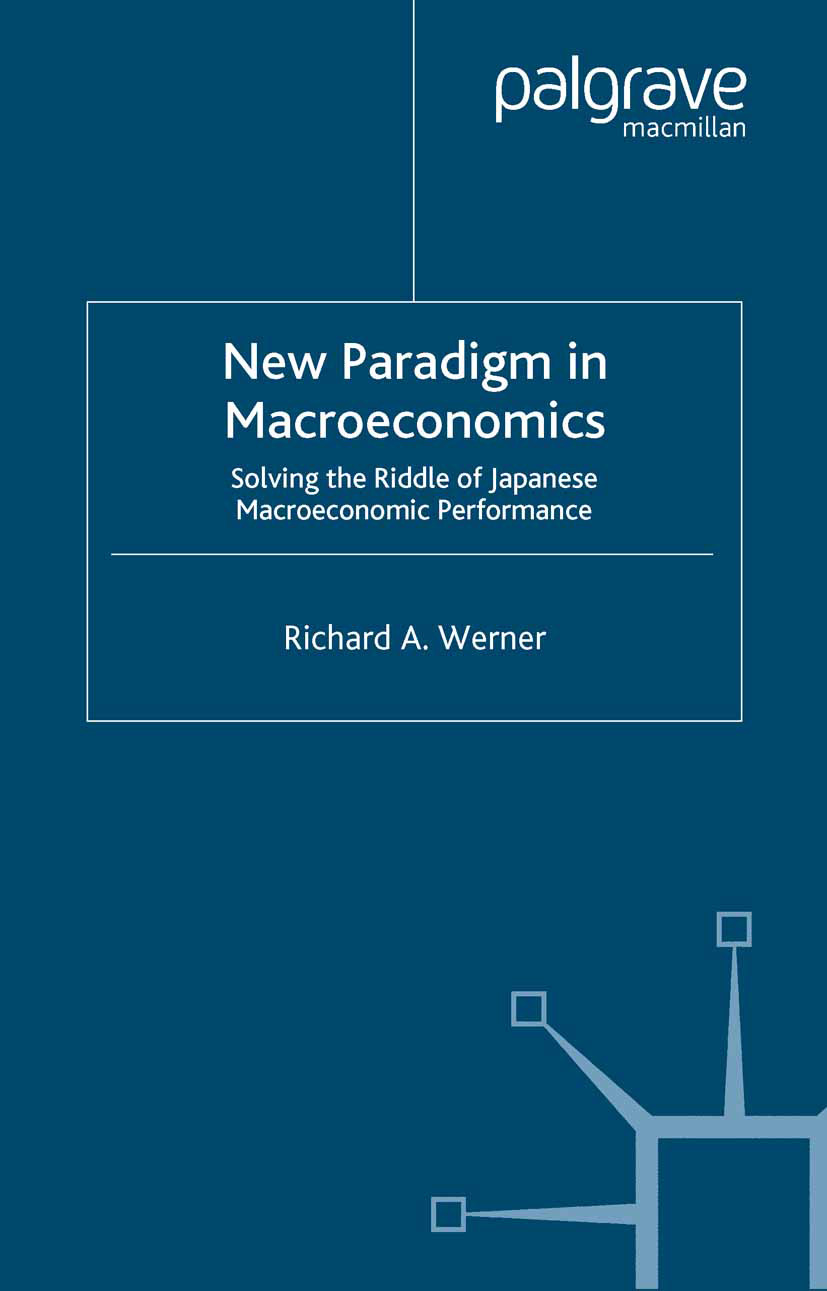Werner, Richard A. - New Paradigm in Macroeconomics, ebook