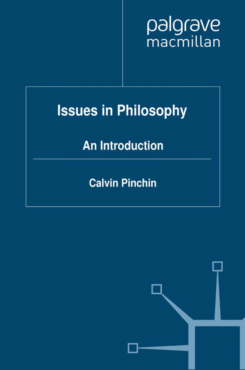 Pinchin, Calvin - Issues in Philosophy, ebook
