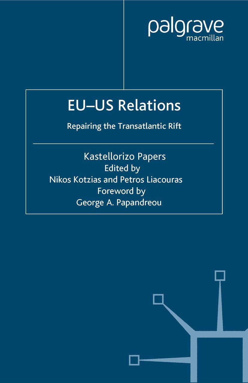 Kotzias, Nikos - EU-US Relations, ebook