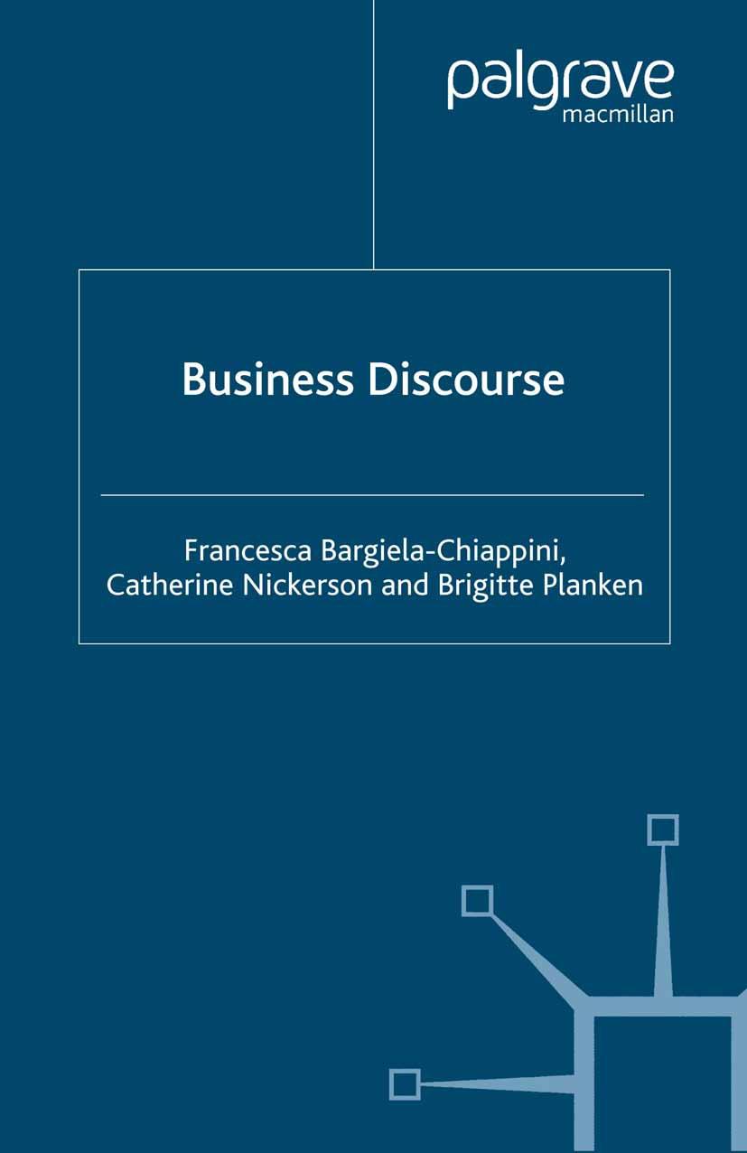 Bargiela-Chiappini, Francesca - Business Discourse, ebook