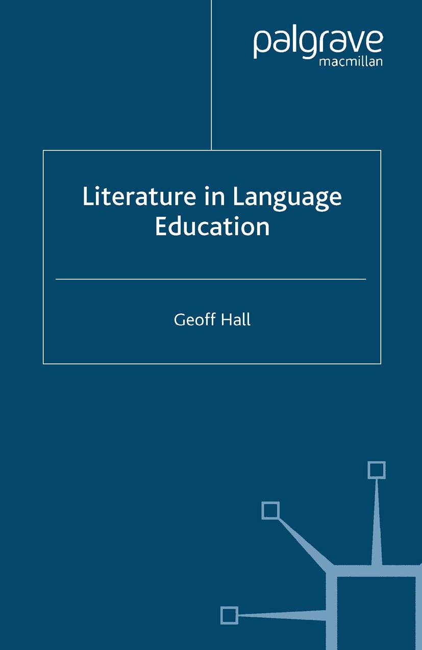 Hall, Geoff. - Literature in Language Education, ebook