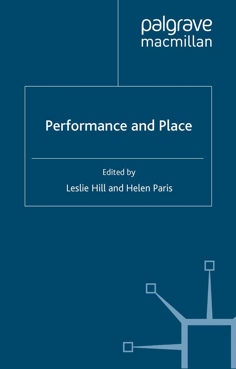 Hill, Leslie - Performance and Place, ebook