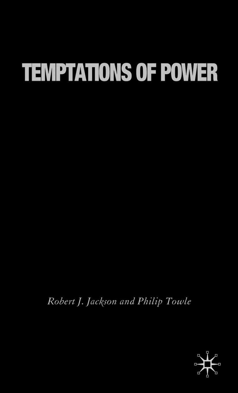 Jackson, Robert J. - Temptations of Power, ebook
