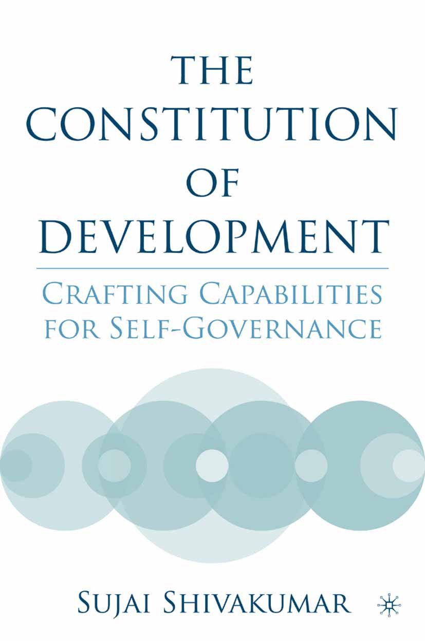 Shivakumar, Sujai - The Constitution of Development, ebook