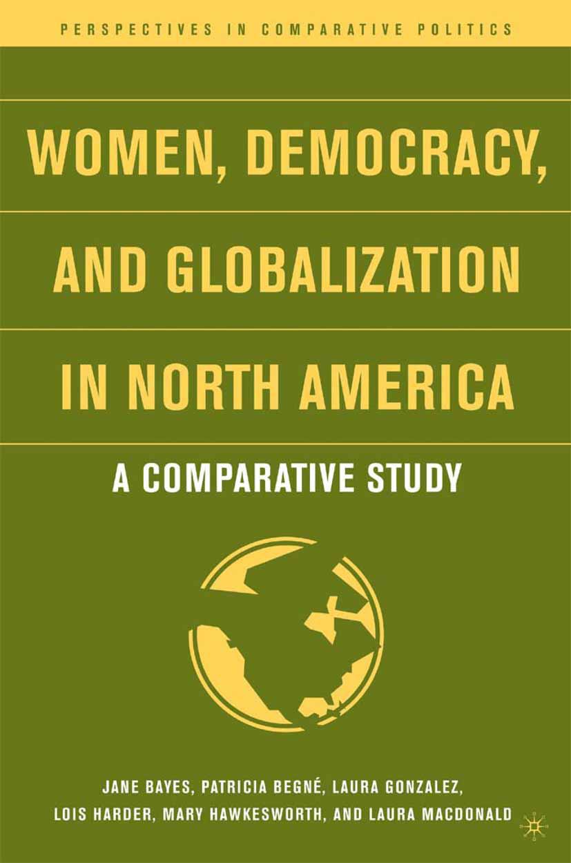 Bayes, Jane - Women, Democracy, and Globalization in North America, ebook