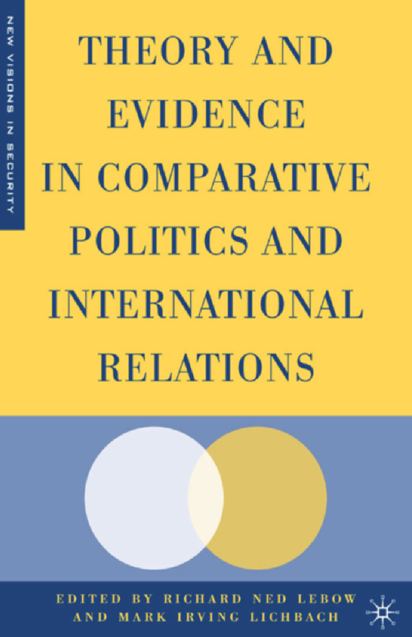 Lebow, Richard Ned - Theory and Evidence in Comparative Politics and International Relations, ebook
