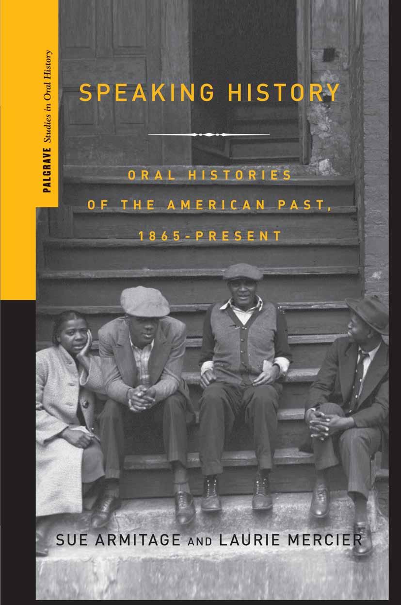 Armitage, Sue - Speaking History, ebook