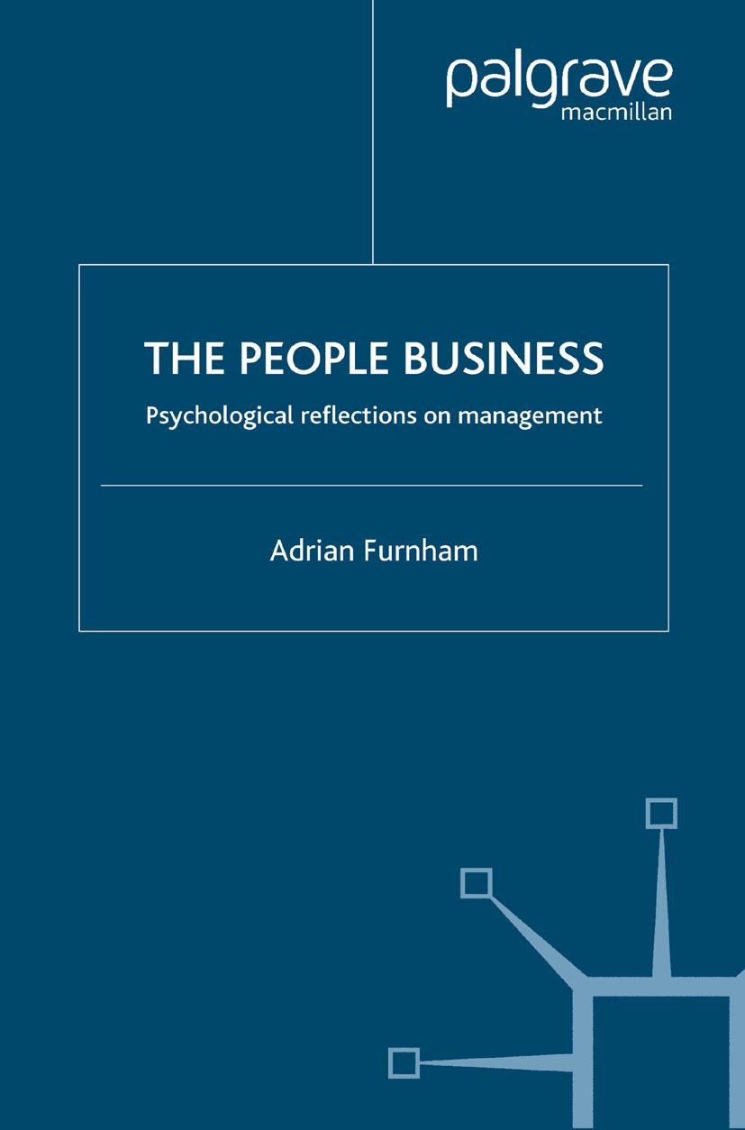 Furnham, Adrian - The People Business, ebook