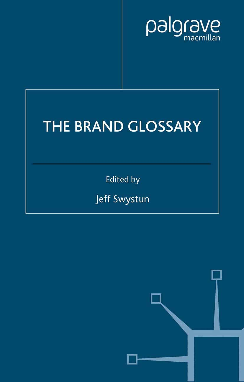 Swystun, Jeff - The Brand Glossary, ebook