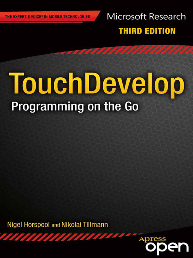 Horspool, R. Nigel - TouchDevelop: Programming on the Go, ebook